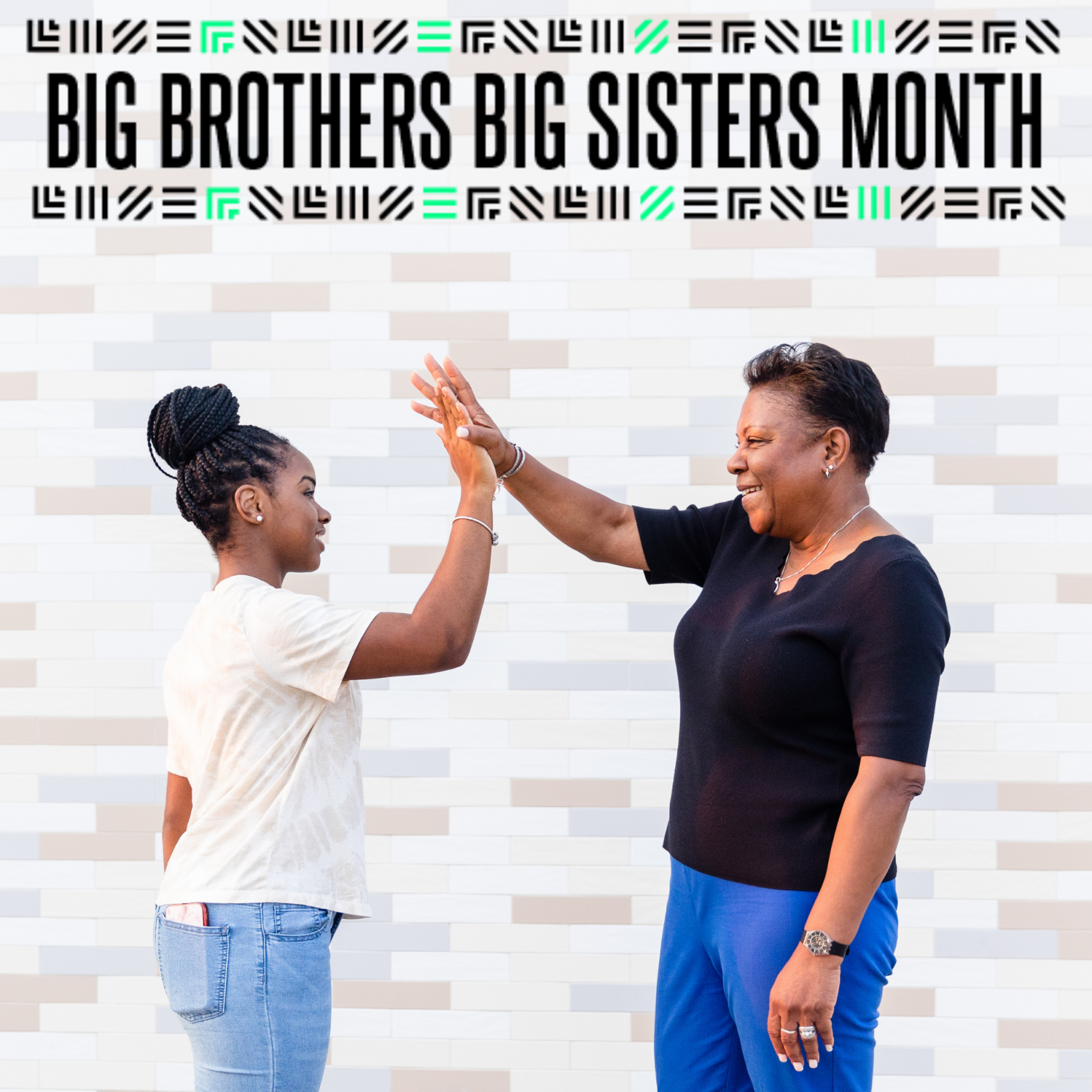 September is Big Brothers Big Sisters Month